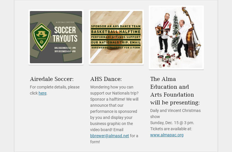 Airedale Soccer: