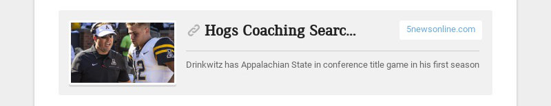 Hogs Coaching Search: Alma Graduate A Rising Star In Coaching Ranks