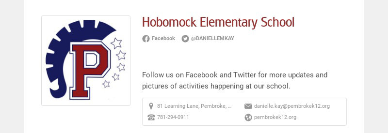 Hobomock Elementary School