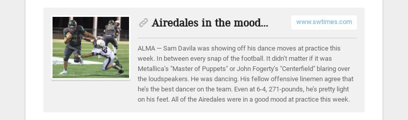 Airedales in the mood to host playoffs