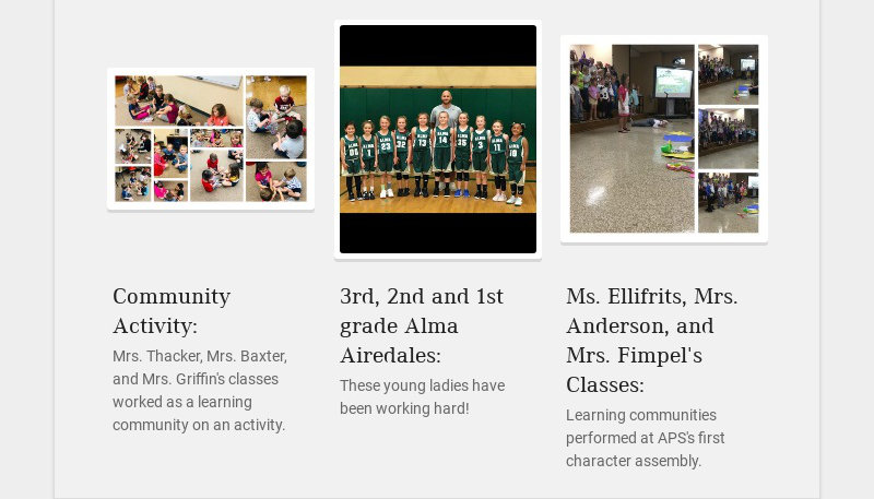 Community Activity: