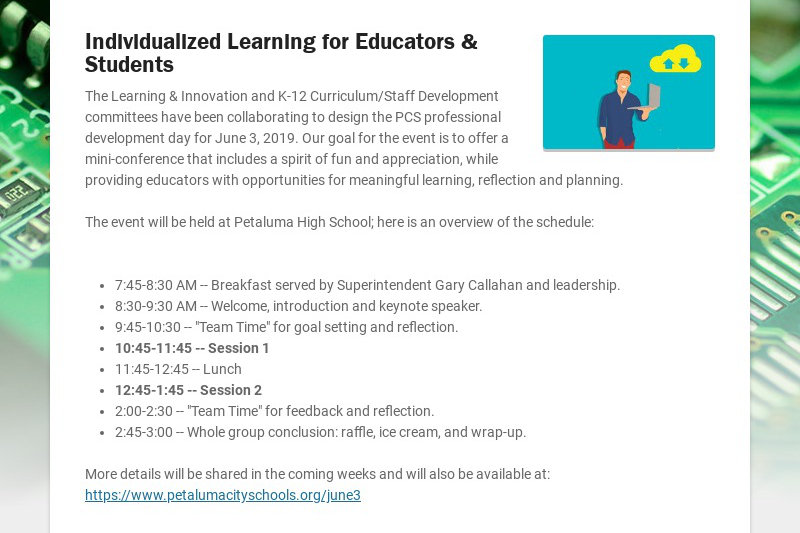 Individualized Learning for Educators & Students