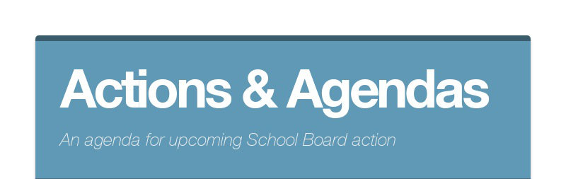 Actions & Agendas