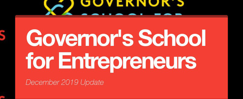 Governor's School for Entrepreneurs