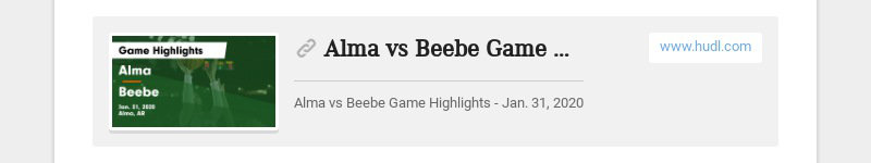 Alma vs Beebe Game Highlights - Jan. 31, 2020