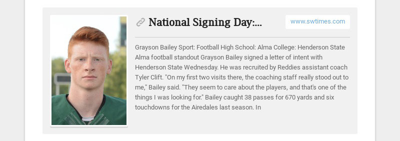 National Signing Day: Area prospects showcased