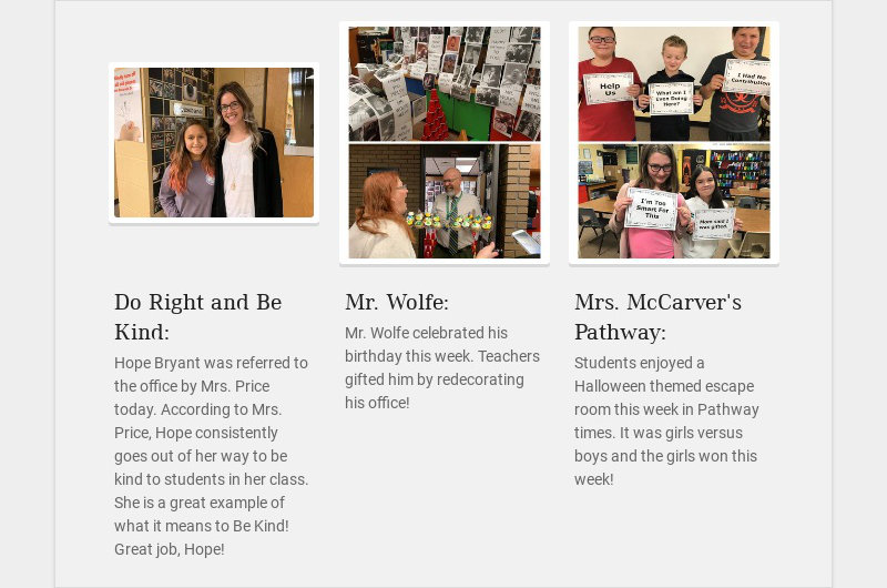 Do Right and Be Kind: