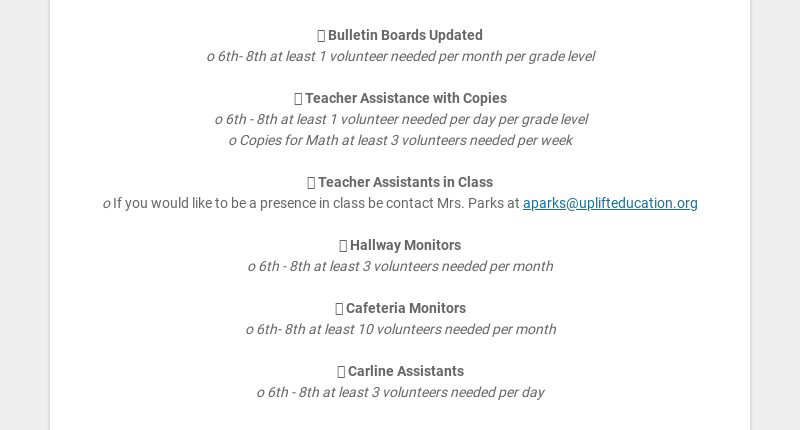  Bulletin Boards Updated