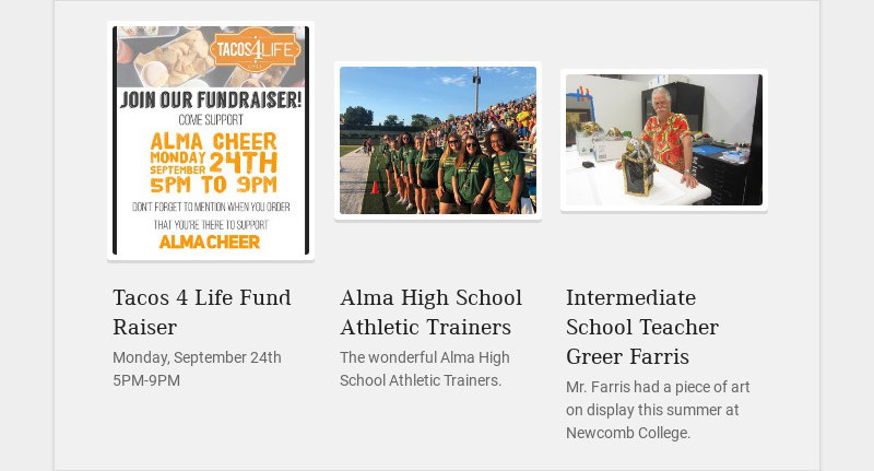 Tacos 4 Life Fund Raiser