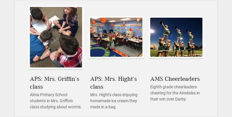 APS: Mrs. Griffin's class
