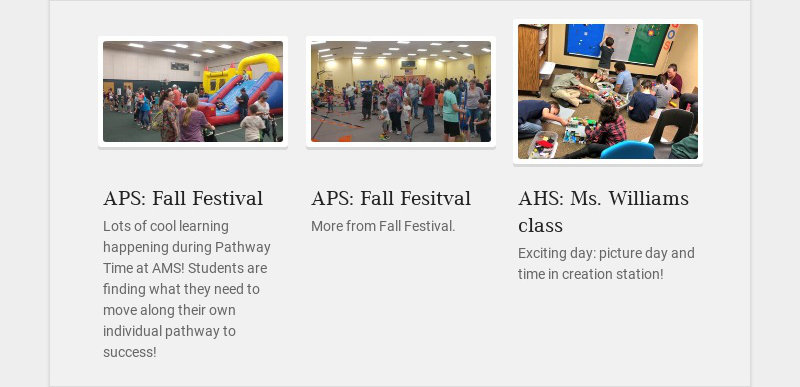 APS: Fall Festival