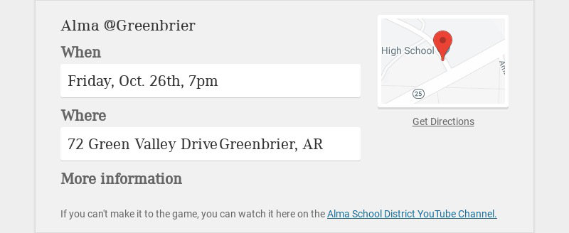 Alma @Greenbrier