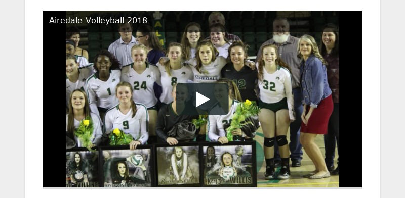 Airedale Volleyball 2018