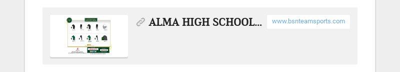 ALMA HIGH SCHOOL - SOCCER 2019 www.bsnteamsports.com