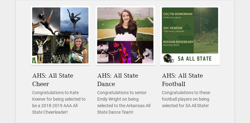 AHS: All State Cheer