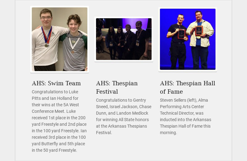 AHS: Swim Team