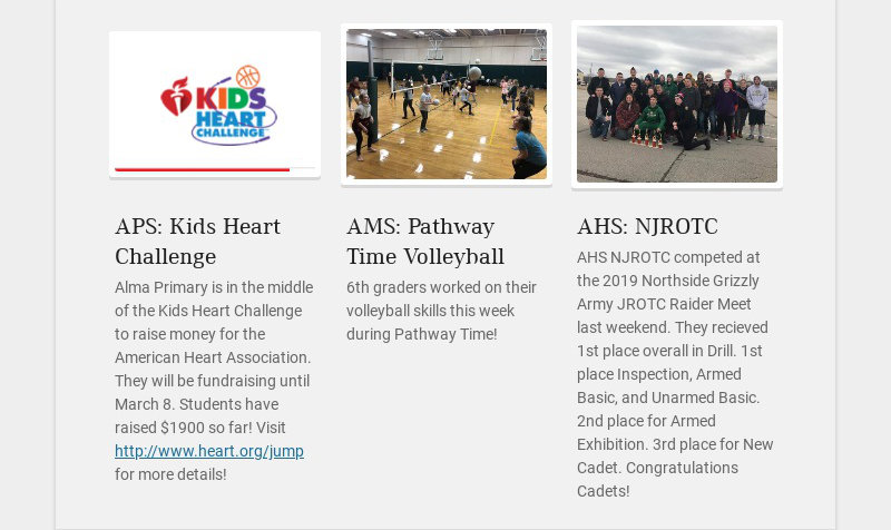 APS: Kids Heart Challenge