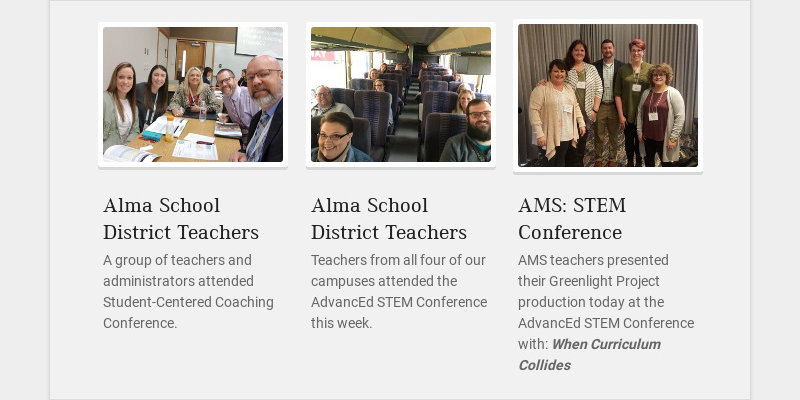 Alma School District Teachers