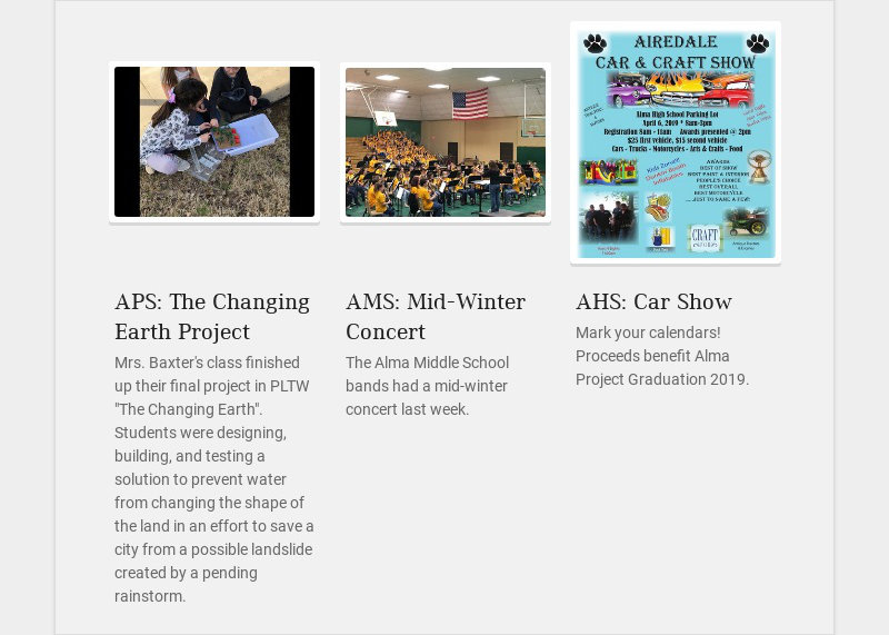 APS: The Changing Earth Project