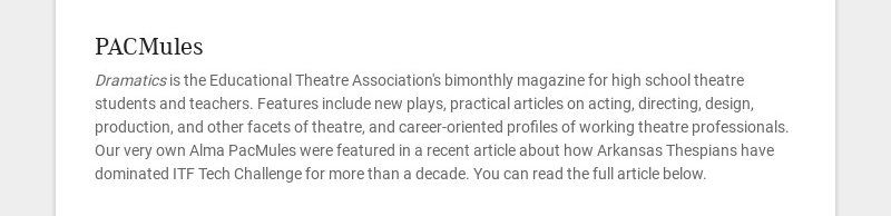 PACMules