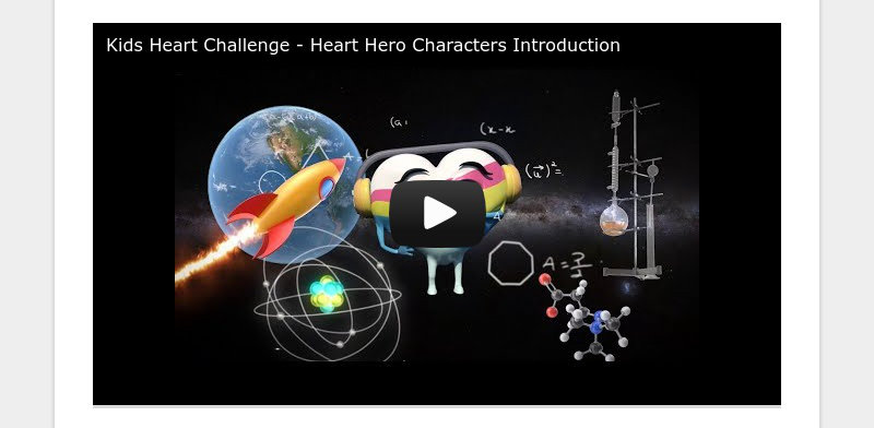 Kids Heart Challenge - Heart Hero Characters Introduction