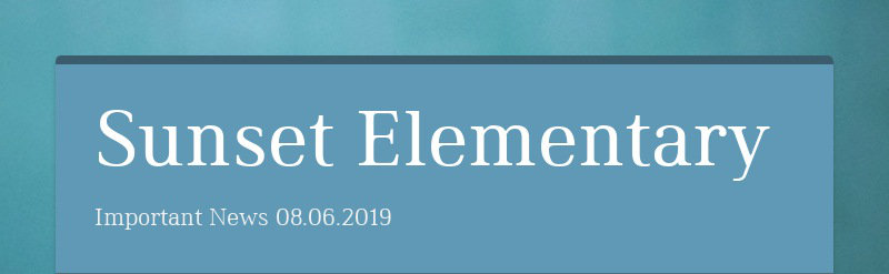 Sunset Elementary