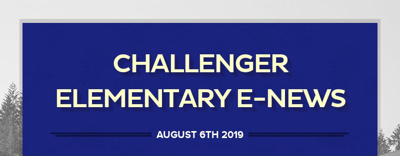 CHALLENGER ELEMENTARY E-NEWS