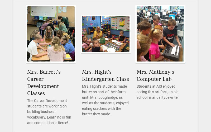 Mrs. Barrett's Career Development Classes