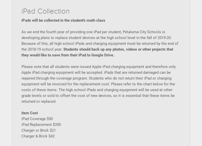 iPad Collection
