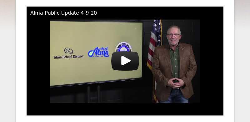 Alma Public Update 4 9 20