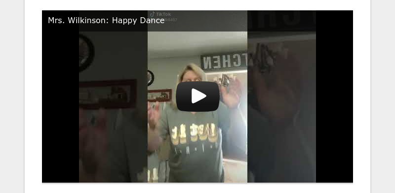 Mrs. Wilkinson: Happy Dance