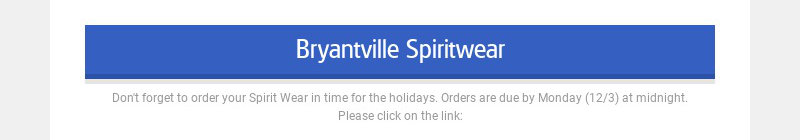 Bryantville Spiritwear