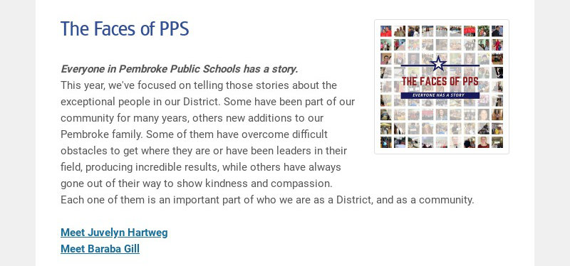 The Faces of PPS