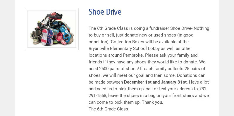 Shoe Drive