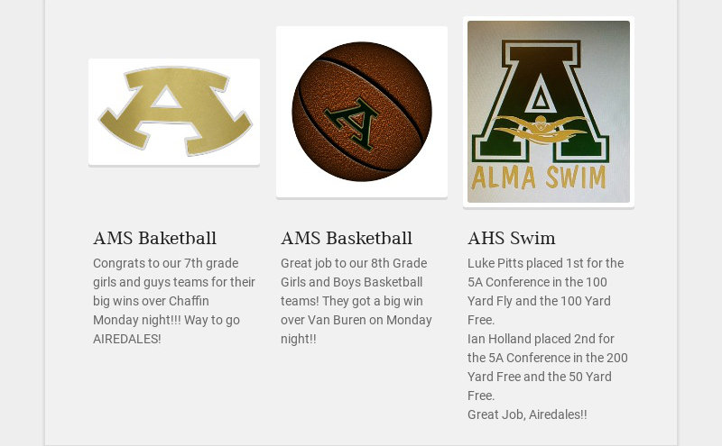 AMS Baketball Congrats to our 7th grade girls and guys teams for their big wins over Chaffin...