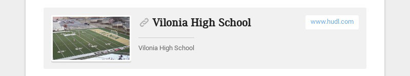 Vilonia High School www.hudl.com Vilonia High School
