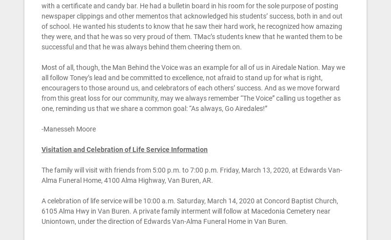If you've been around Alma School District for even a short amount of time in the past few...
