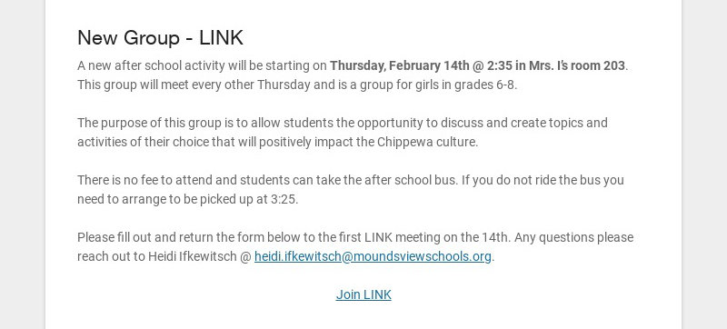 New Group - LINK