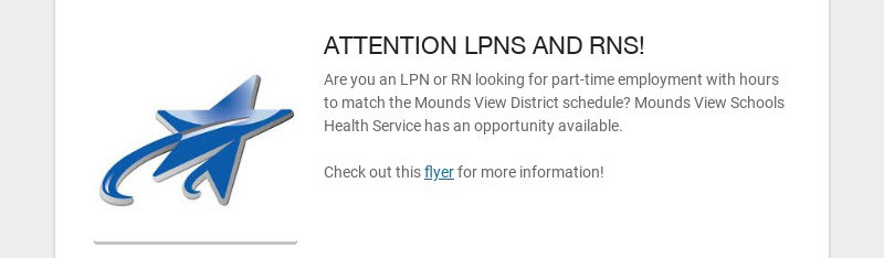 ATTENTION LPNS AND RNS!