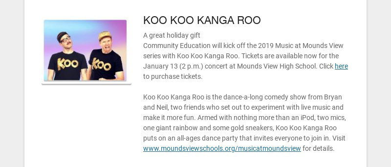 KOO KOO KANGA ROO