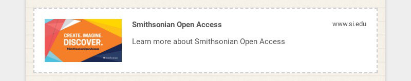 Smithsonian Open Access www.si.edu Learn more about Smithsonian Open Access