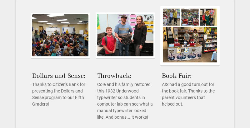 Dollars and Sense: Thanks to Citizen's Bank for presenting the Dollars and Sense program to our...
