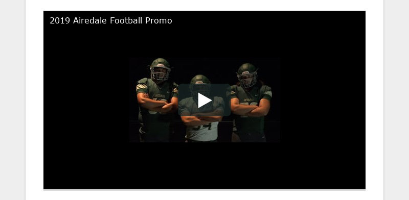 2019 Airedale Football Promo