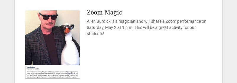 Zoom Magic