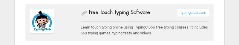Free Touch Typing Softwaretypingclub.comLearn touch typing online using TypingClub's free...